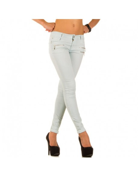 Women's jeans  - Turquoise